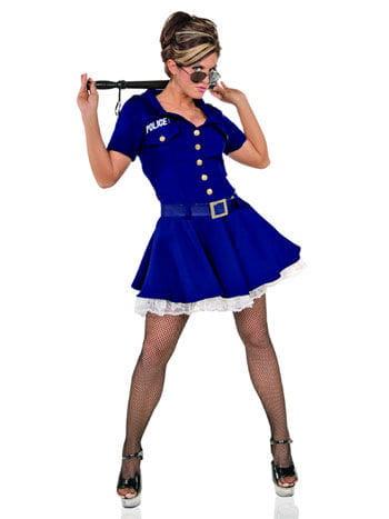 Sexy Gefängniswärterin Kostüm Gr. XL