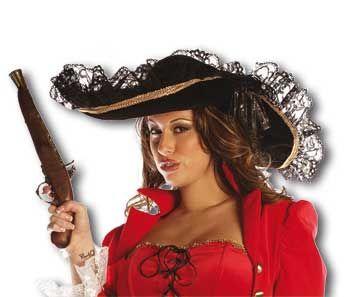Pirate Hat Black
