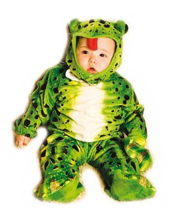 Frosch Babykostüm 6-12 Mo