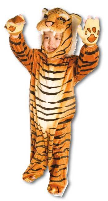 Kuschel Tiger Kostüm Gr. L