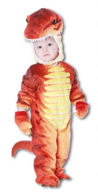 Dino Rex Costume Red S