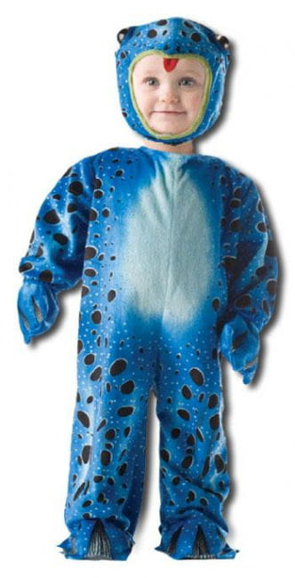Blue Frog Kids Costume. L (36 to 48 Mo)