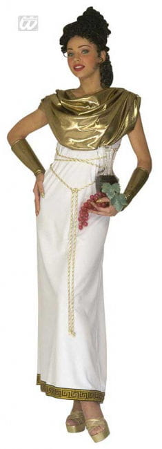 Greek goddess Persephone Costume L