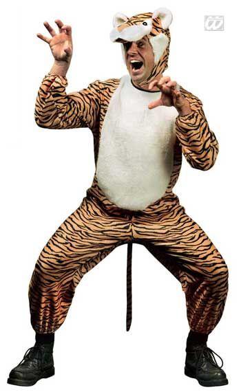 Wild tiger costume S