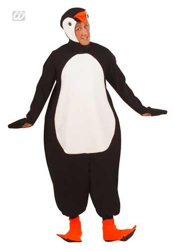 Niedlicher Pinguin Kostüm Gr. XL