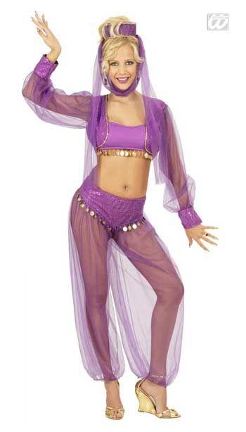 Charming Jeannie Costume Medium
