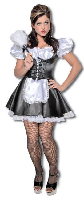 Dienstmädchen Premium Kostüm Gr. M