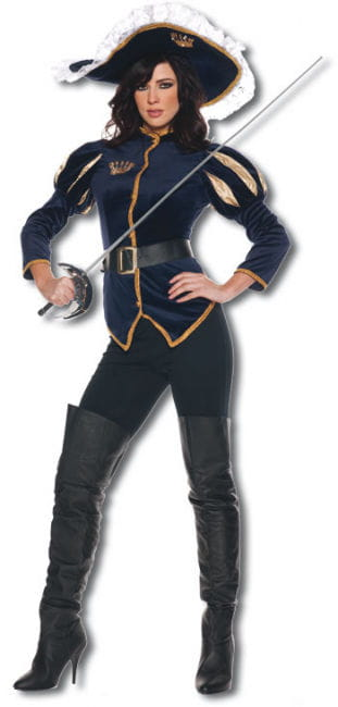 Lady Musketeer Premium Costume. M