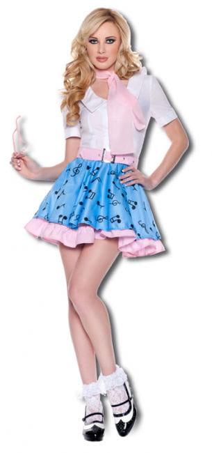 Rock n Roll Girl Premium Kostüm Gr. M