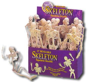Biegsames Skelett Partyzubehör