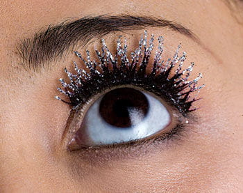 Glitter Eyelashes Black