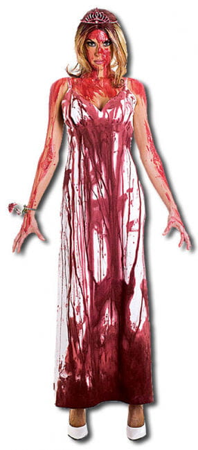 Carrie Prom Queen DLX Costume L