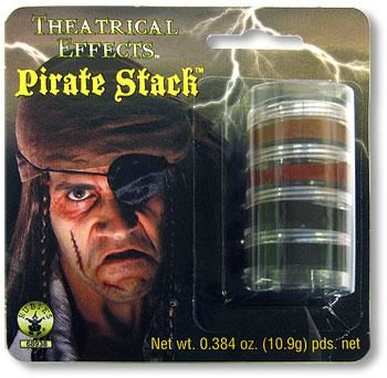 Pirate Make Up Stack