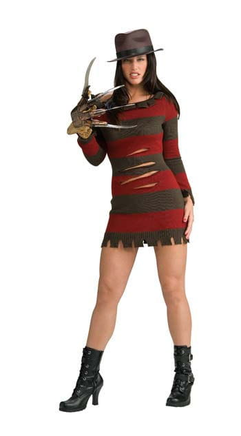 Mrs. Freddy Krueger costume S