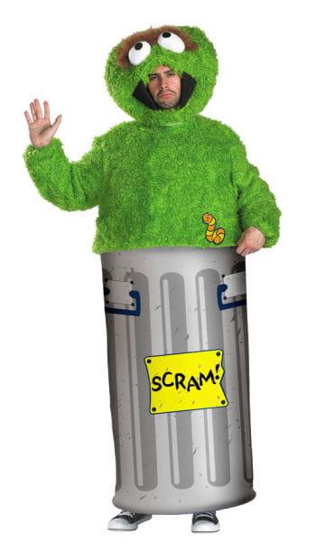 Sesame Street Oscar Costume XL
