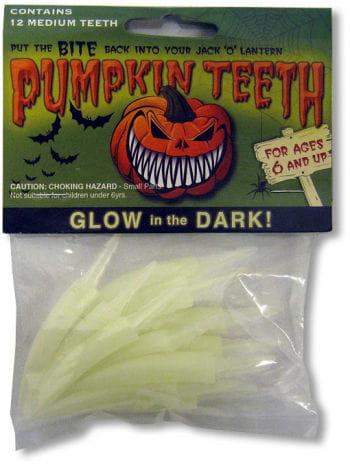 Pumpkin Teeth Small Glow
