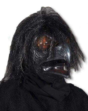 Crow horror mask