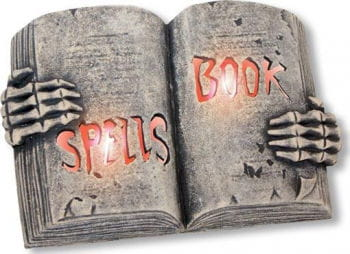Glowing Spells Book