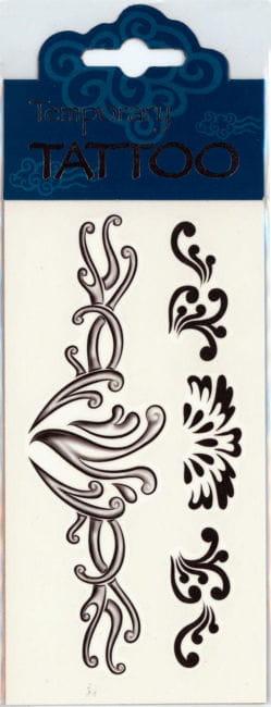 Flügel Tattoo Ornamental
