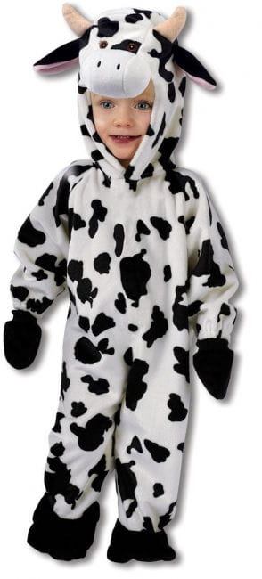 Cuddly cow costume S