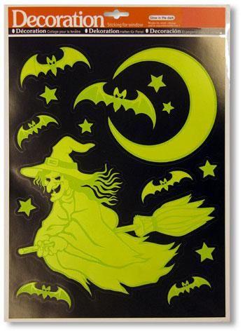 Leuchtende Hexe Sticker