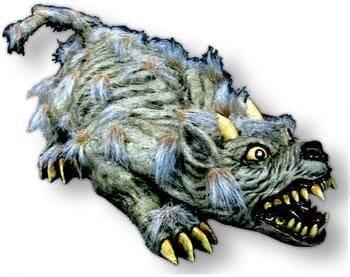 Huge hairy monster rat