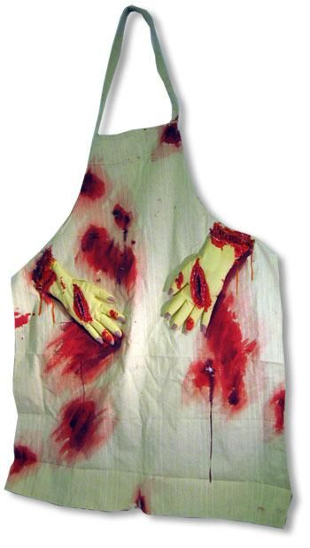 Bloody Apron with Hands