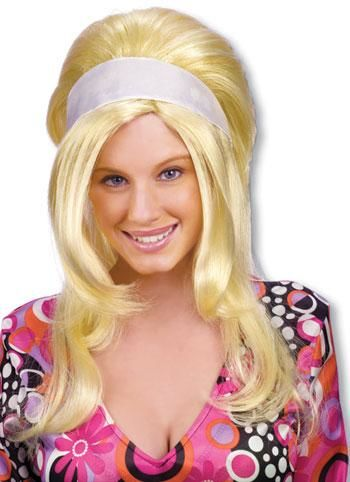 Brigitte Bardo Perücke Blond