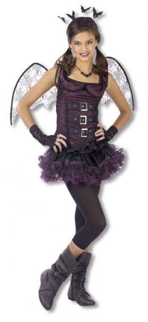 Spider Bat Child Costume Purple M