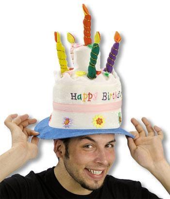 Birthday cakes hat