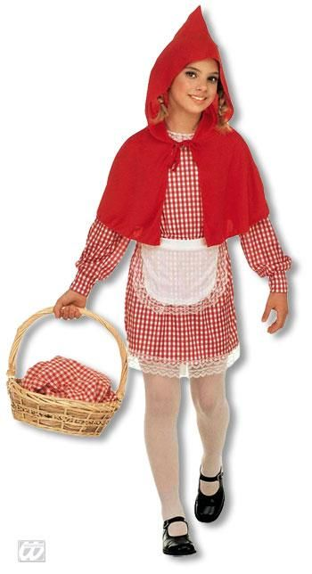 Little Red Riding Hood Kids Costume L