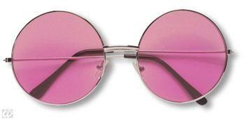 Pinke 70er Sonnenbrille