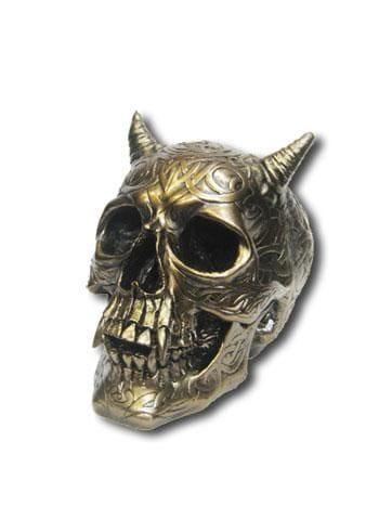 Keltischer Teufelsschädel