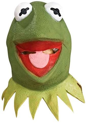 Muppets Kermit the Frog Mask