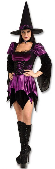 Sexy Precious Witch Costume M