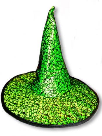 Gothic Hexenhut grün
