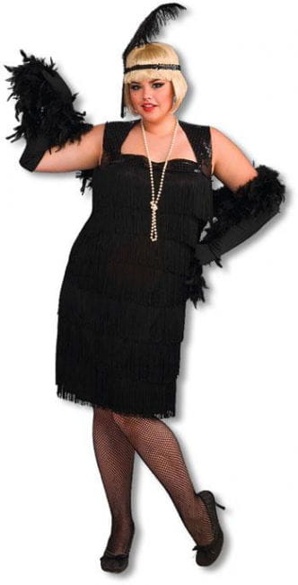 Cabaret Flapper Girl Costume XL