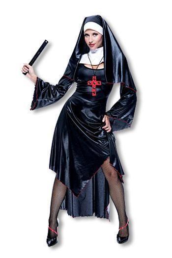 Sexy Nonnen Kostüm S