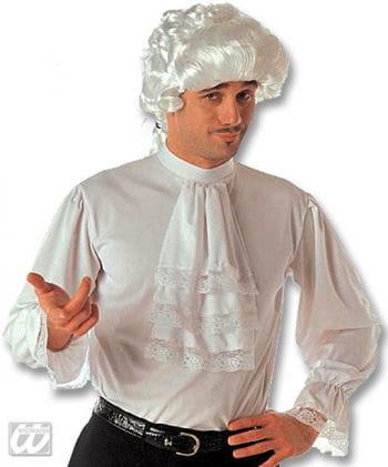 Ruffled shirt with jabot XL