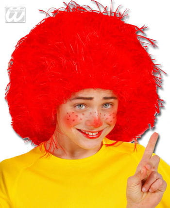 Red Leprechaun Wig