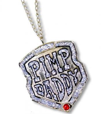 Rapper Kette  mit Medalion Pimp Daddy