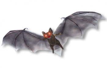 Creepy hanging bat