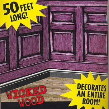 Wicked Wood Panelling Scene Setter