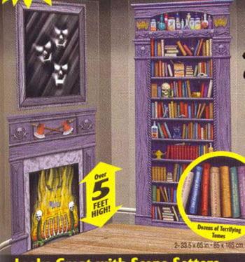 Horror Library Scene Setters