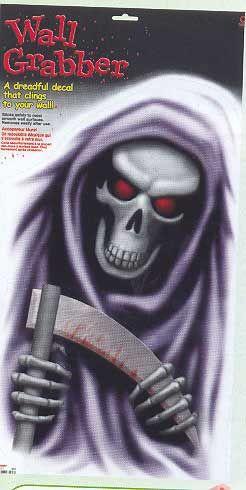 Grim Reaper Fenster Folie