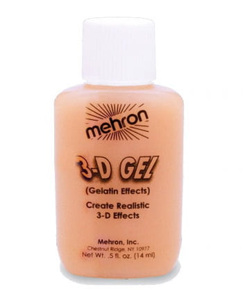 3-D gelatin gel skin color 14ml