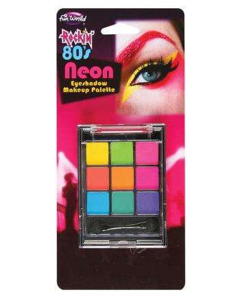 80s neon eyeshadow palette