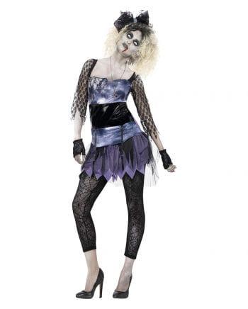 80er Zombiemädchen Damenkostüm
