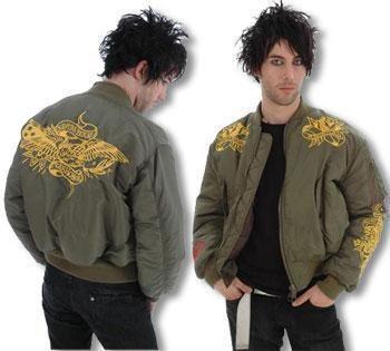 Olive Bomber Muai small jacket