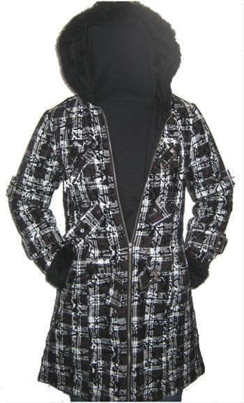 Celina Coat With Plush Hood Size Gr. L